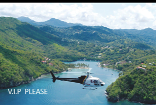 Helicopter Transfers  to your Resort
