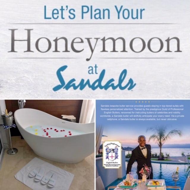 Say I do- the honeymoon begins - Click photo to view Honeymoon options!